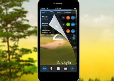 Mobiilisovellus – Frisbeegolf