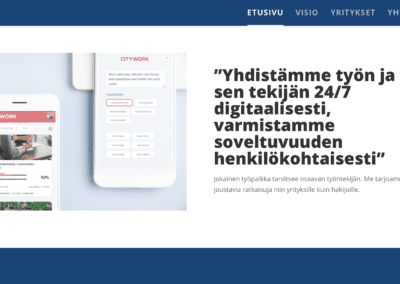 WordPress-sivut